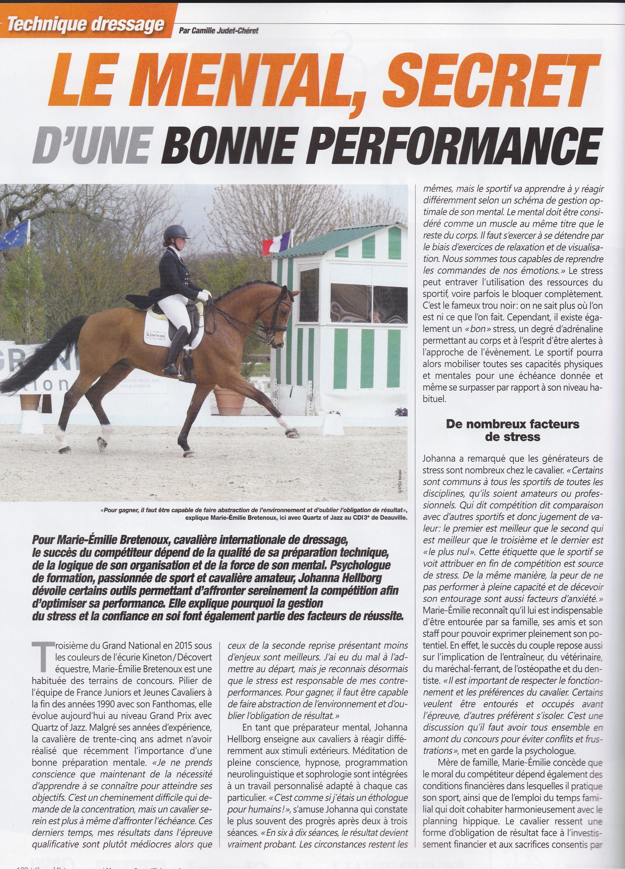 Article Grand Prix Magasine
